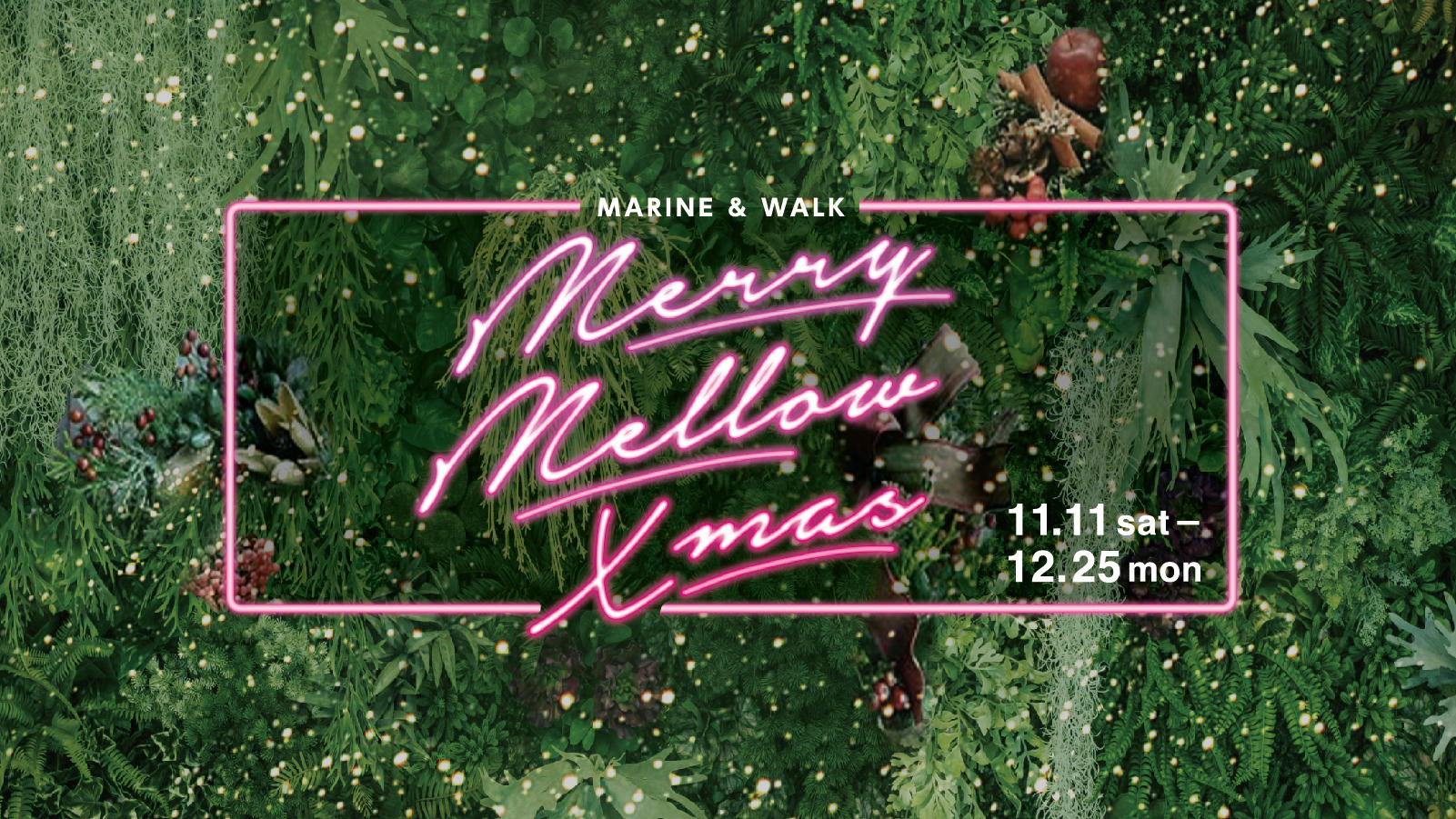 Merry Mellow Xmas 11.11sat-12.25mon